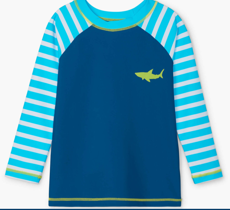 Great White Shark L/S Rashguard