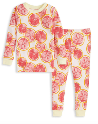 Grapefruit Tee and Pant Pj Set