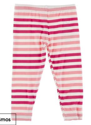 forest fruit stripe leggings