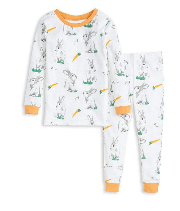 Rabbit Habit Tee and Pant PJ Set