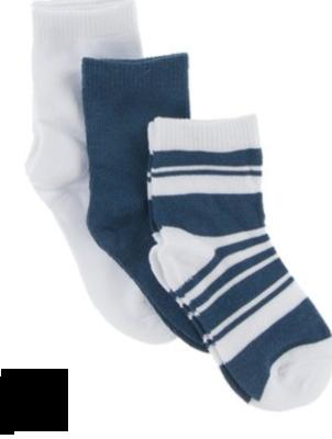 Kickee Pants Sock Set Fishing Stripe