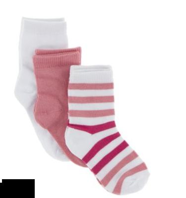 Kickee Pants Socks Set Forest Fruit Stripe