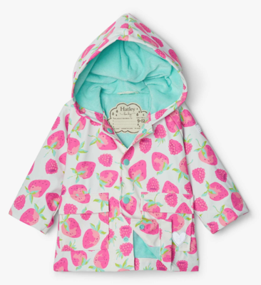 Delicious Berries Baby Raincoat