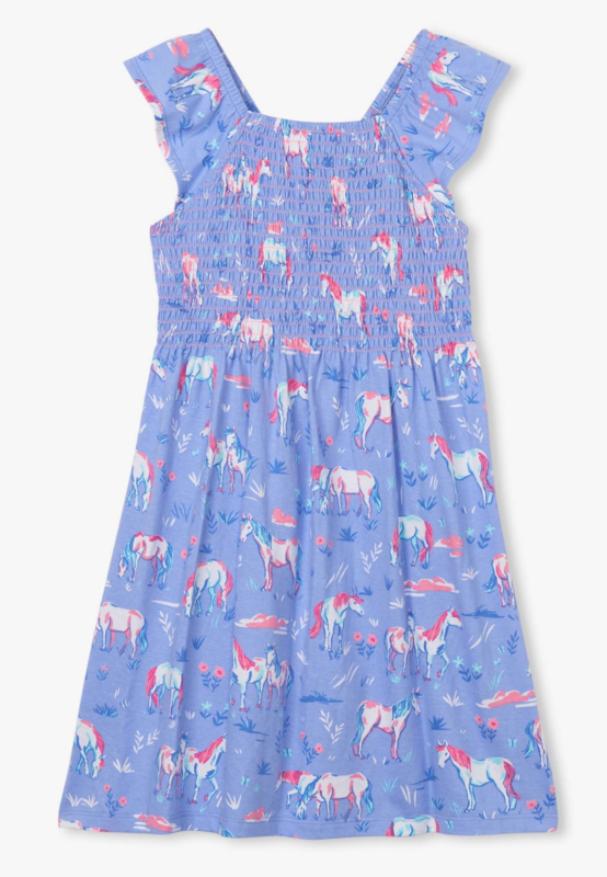 Painted Pasture Smocked Dress
