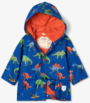 Friendly Dinos Baby Raincoat