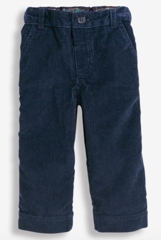 JoJo Maman Bebe Cord Trousers Navy