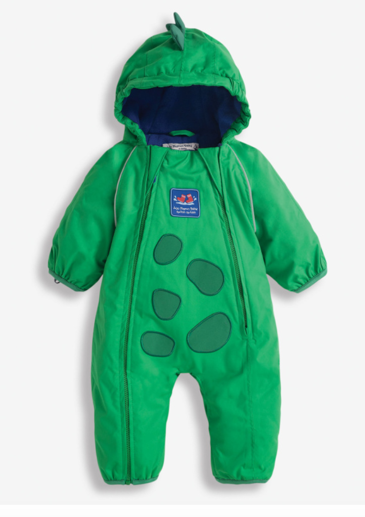 dino jacket (fleece lined) All in One 6-9mo