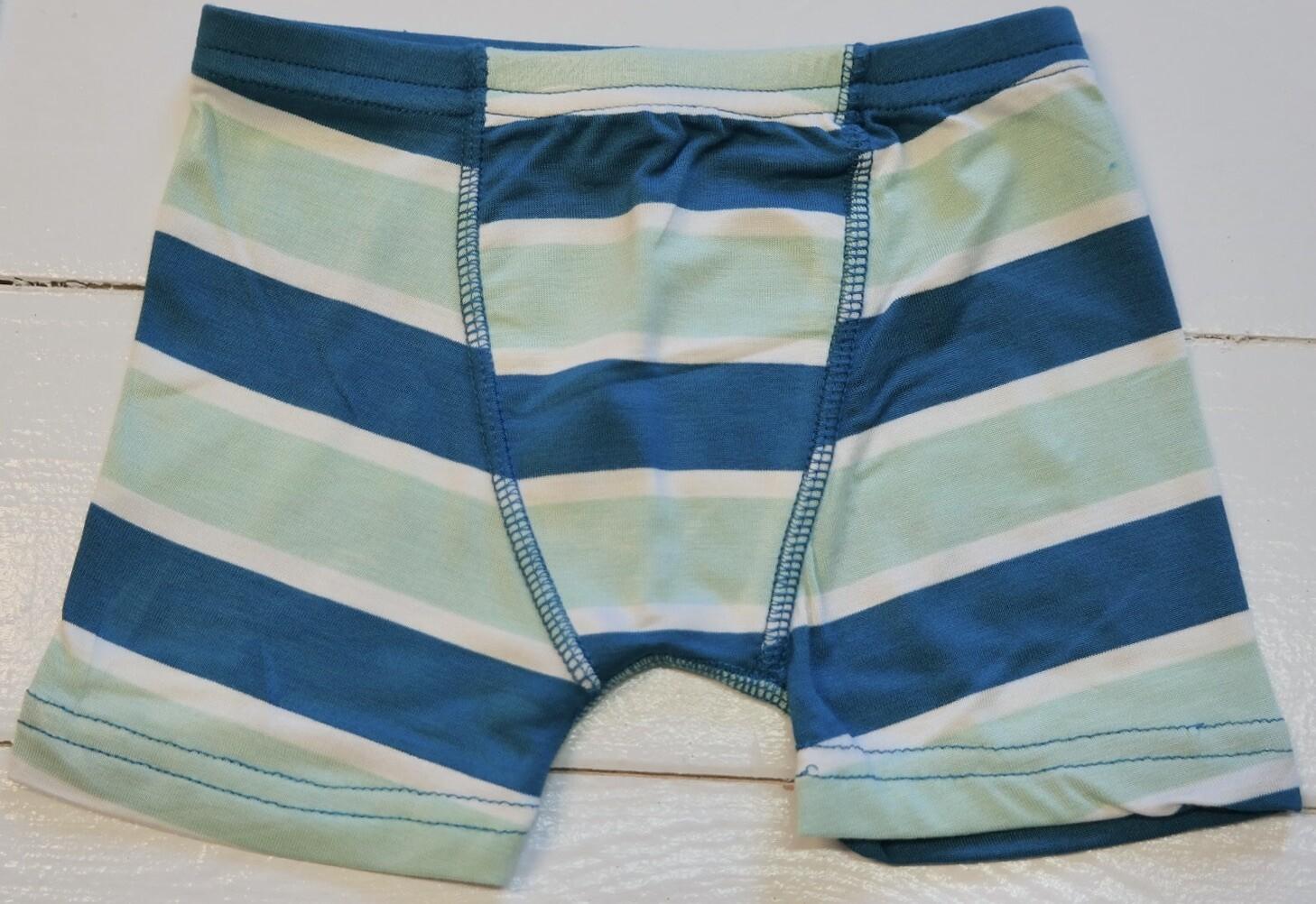 Seaside Cafe stripe boxer briefs