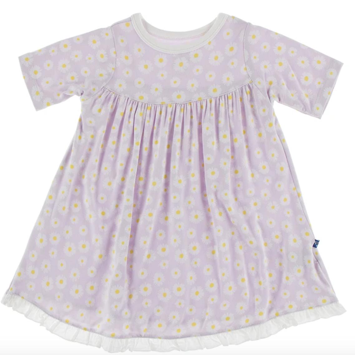 Thistle Chamomile s/s swing dress
