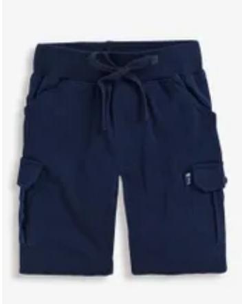 jersey cargo short navy