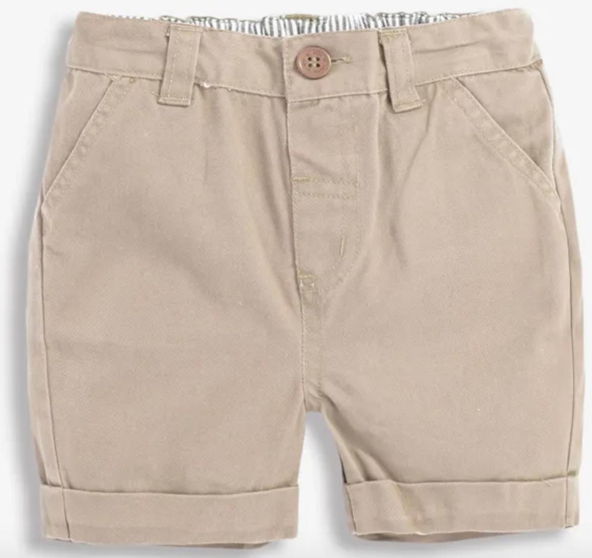 chino shorts stone