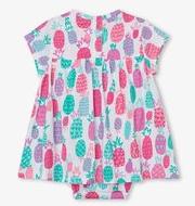 Pineapple Doodles one-piece Dress