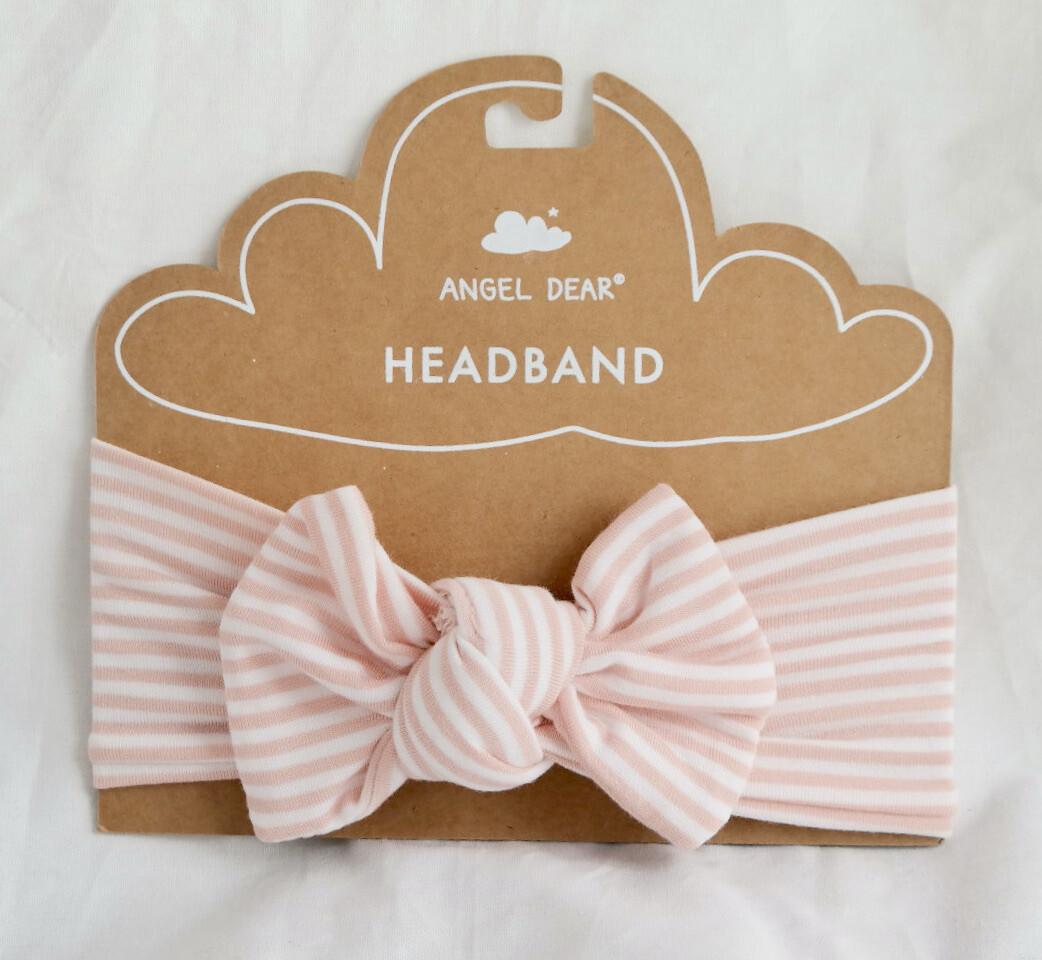 Angel Dear Headband Puppy play stripe 0-12m