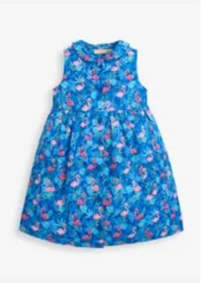 Flamingo Shirt Dress