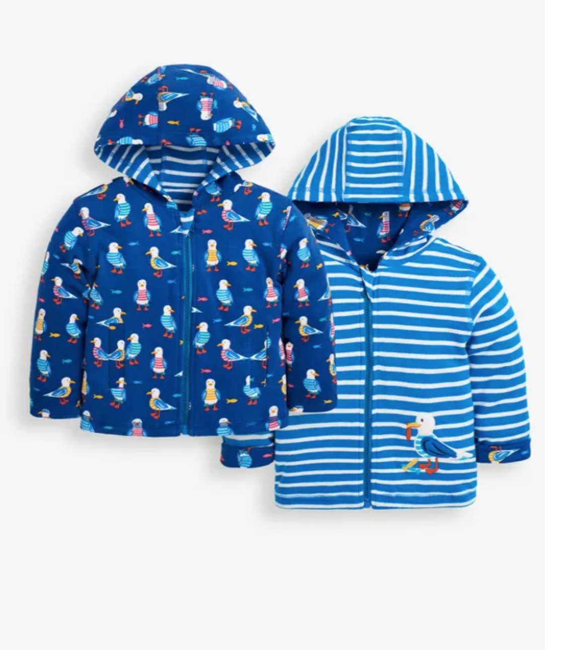 Seagull reversible hoodie size 6-12 mos.