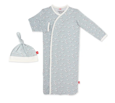 Fly Like A Seagull Magnetic Me Modal Gown Set