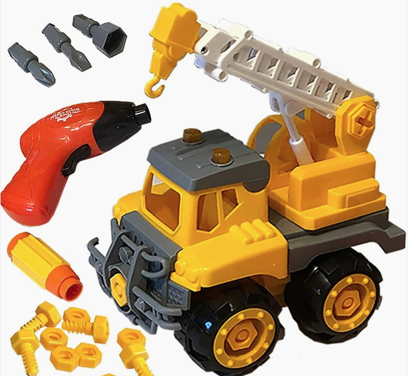 funstruction crane truck