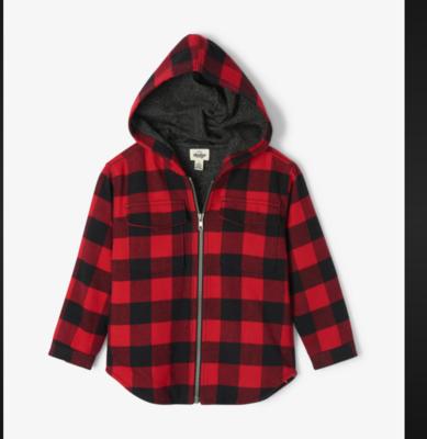 Buffalo Plaid Heritage Flannel Jacket