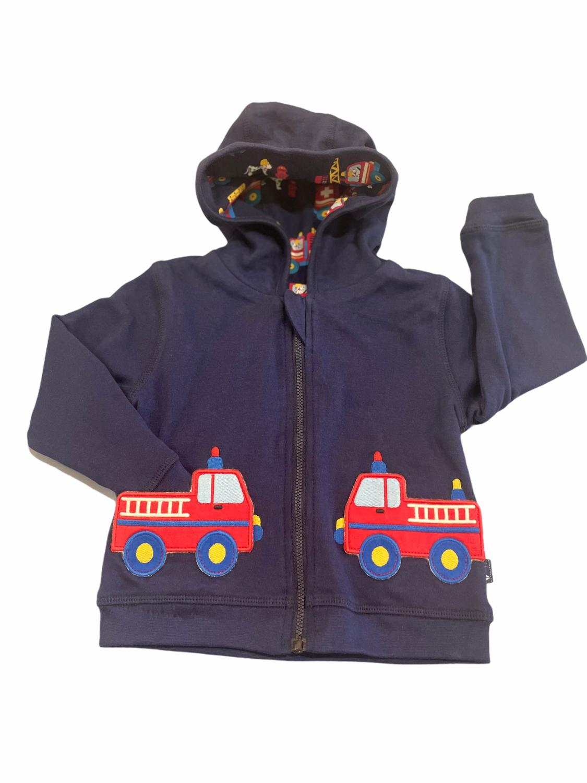 Jojo Firetruck Hooded Sweatshirt