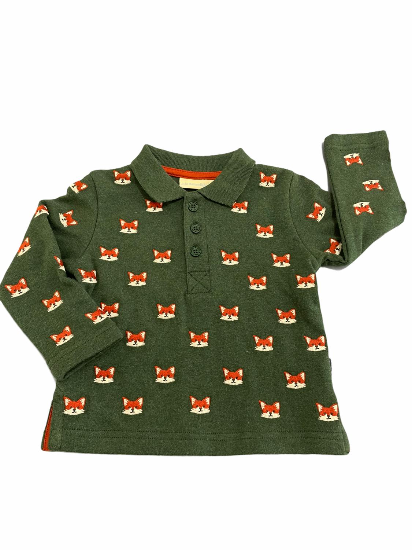 Jojo Green Fox Polo Longsleeve