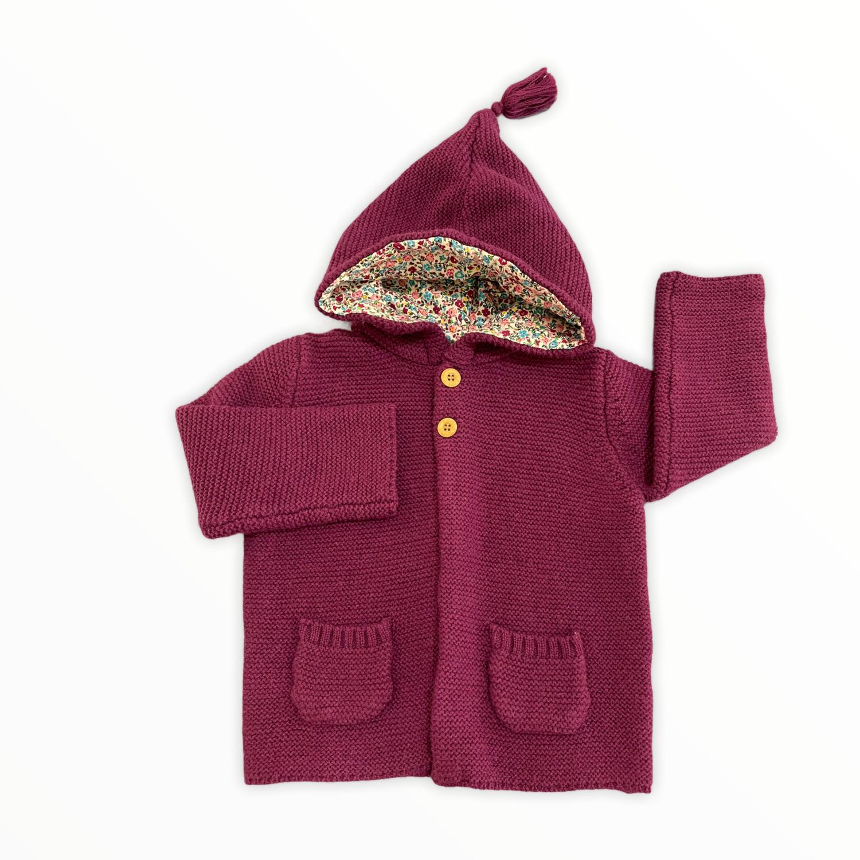 Jojo Knit Sweater Aubergine
