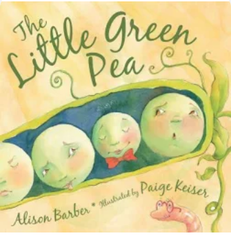 """""""The Little Green Pea"""""""