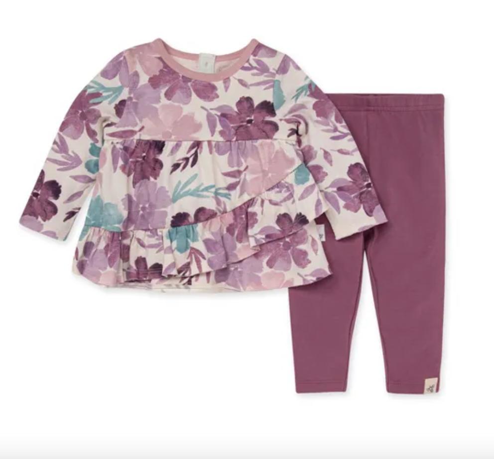 Museum Floral Tunic & legging set
