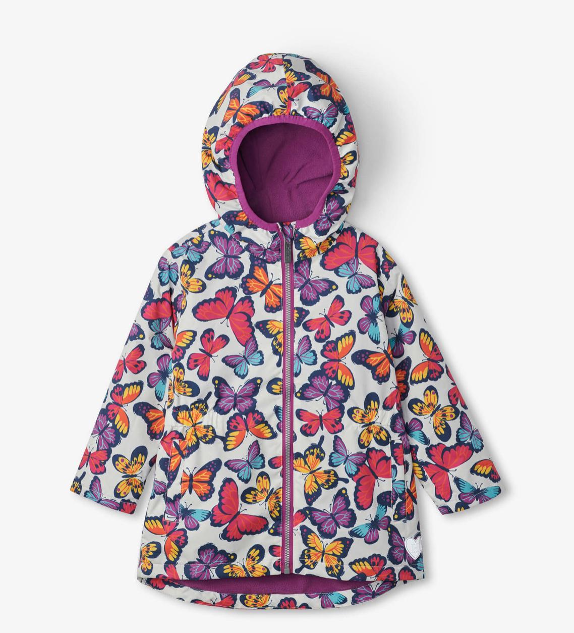 Hatley Kaleidoscope Butterflies Microfleece Jacket
