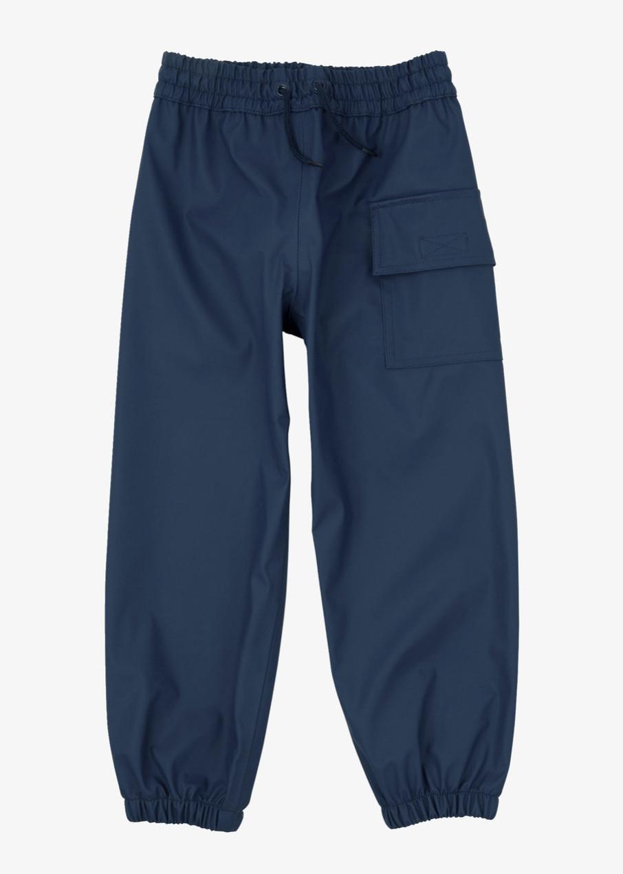 Navy splash pants