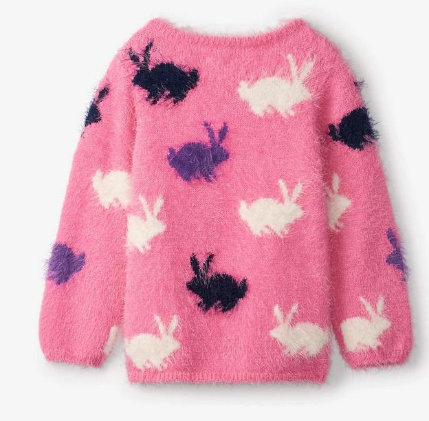 Winter Bunnies Fuzzy Sweater