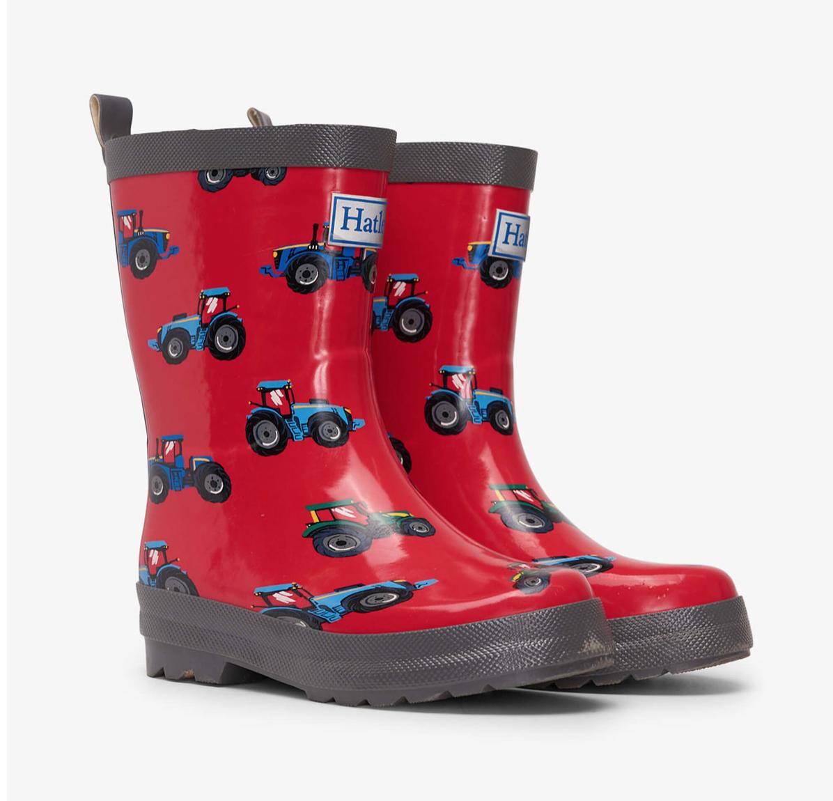 Farm Tractors Rain Boots