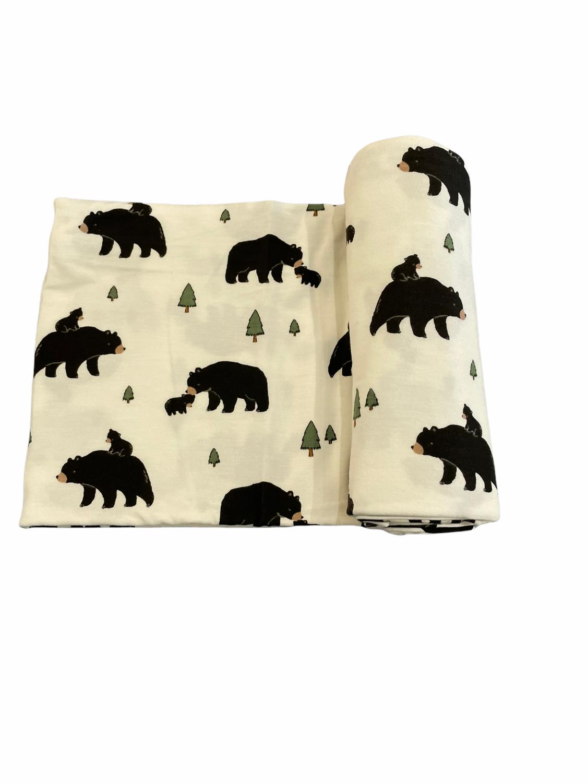 Bears Swaddle Blanket