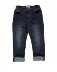 Mark Blue Denim Jeans HB342