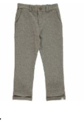 Jonathan Jersey Pants Grey HB34c