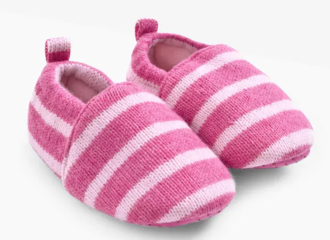 Cosy Knitted Slippers