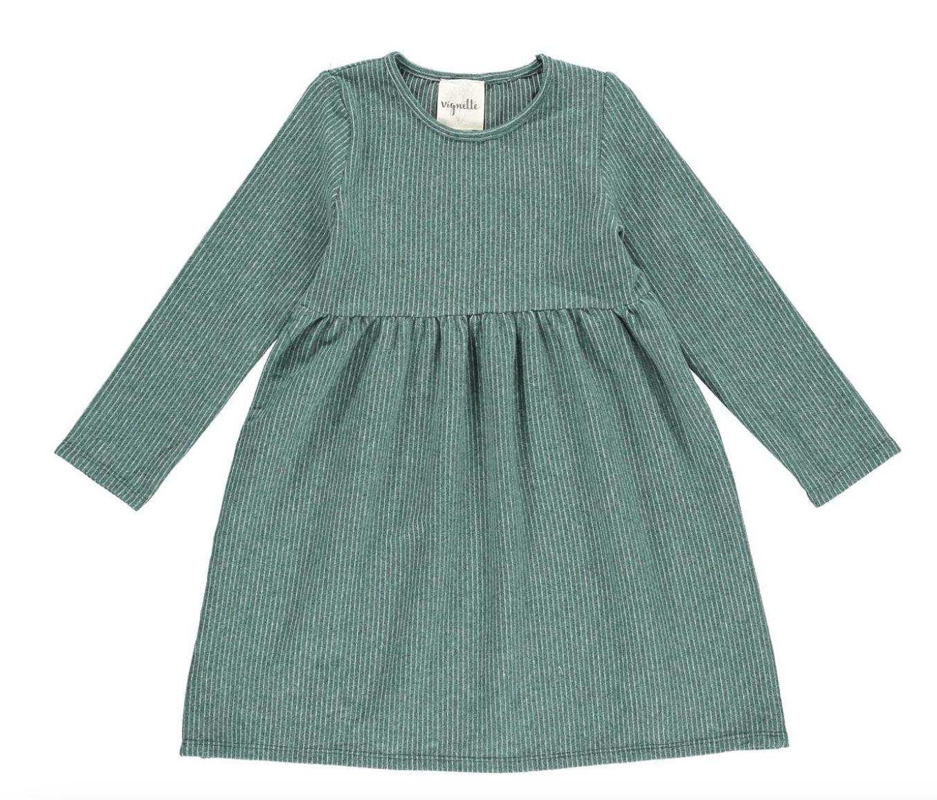 Madigan Dress/Leaf