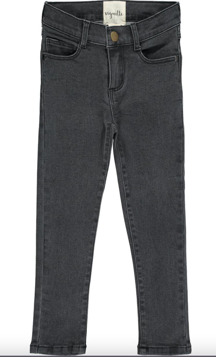 Rachel Jeans Charcoal V546D