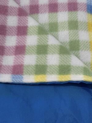 MROB multi plaid on roo blue