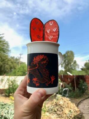 Orange Dragon Barrel Cactus