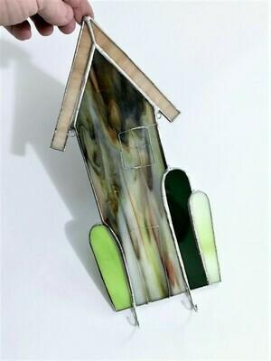 Multicolor Cactus House Key Holder