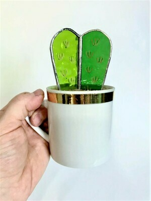 Gold and Green Barrel Cactus