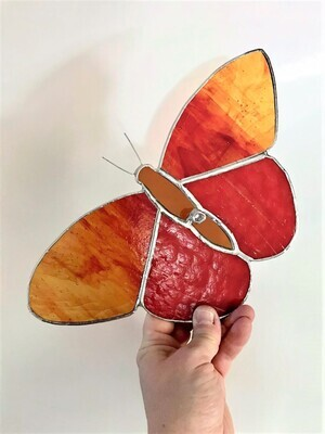 Amber Red Butterfly