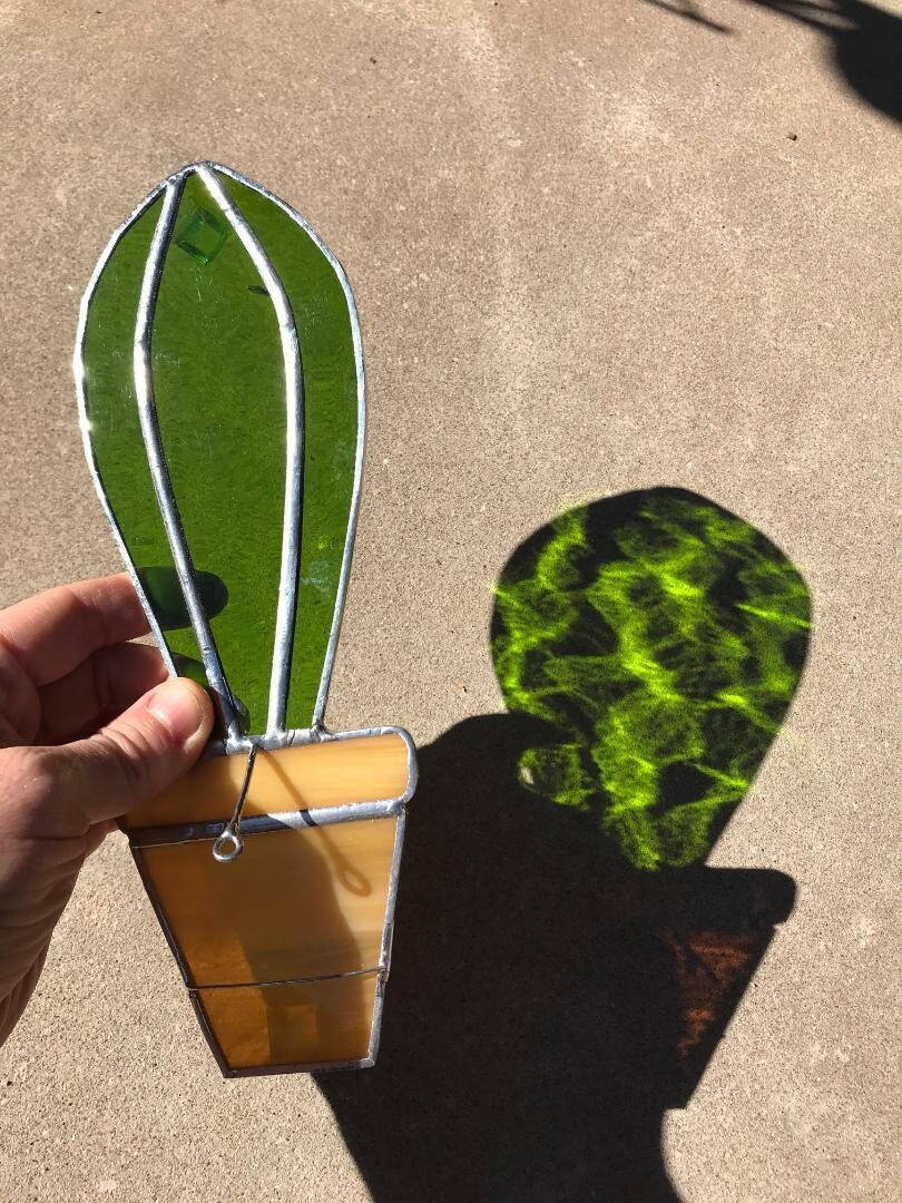 Potted Cactus Incense Holders - 2 Options