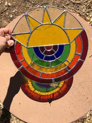 Big A$$ Sun Rainbow Circle