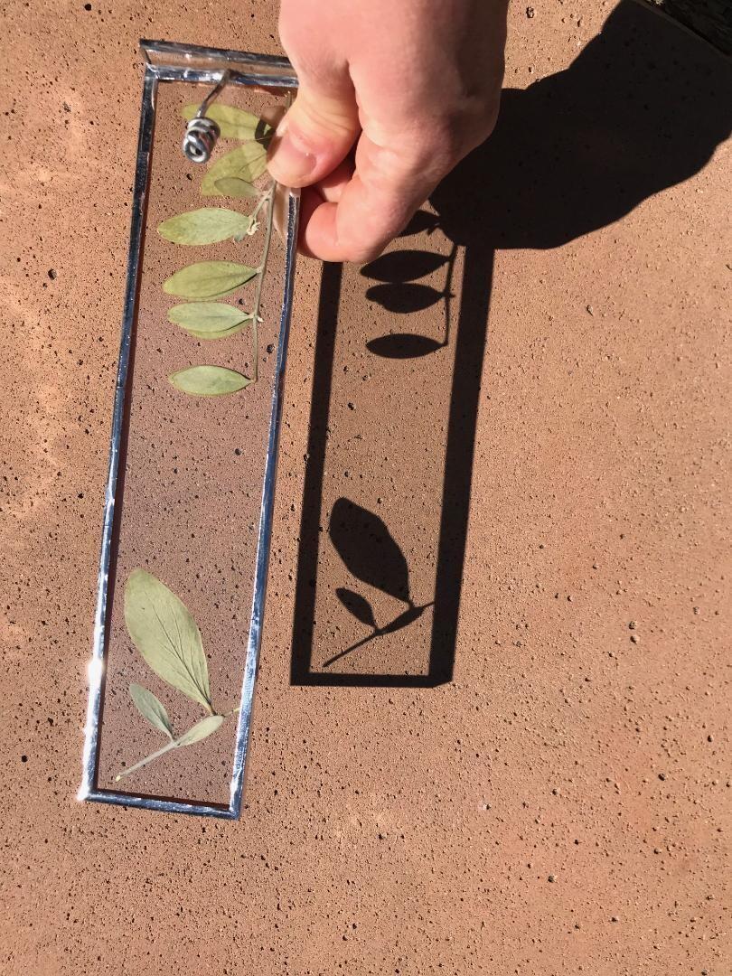 Pressed Leaves Incense Holder