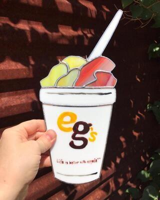 Eegee's Lemon/Strawberry