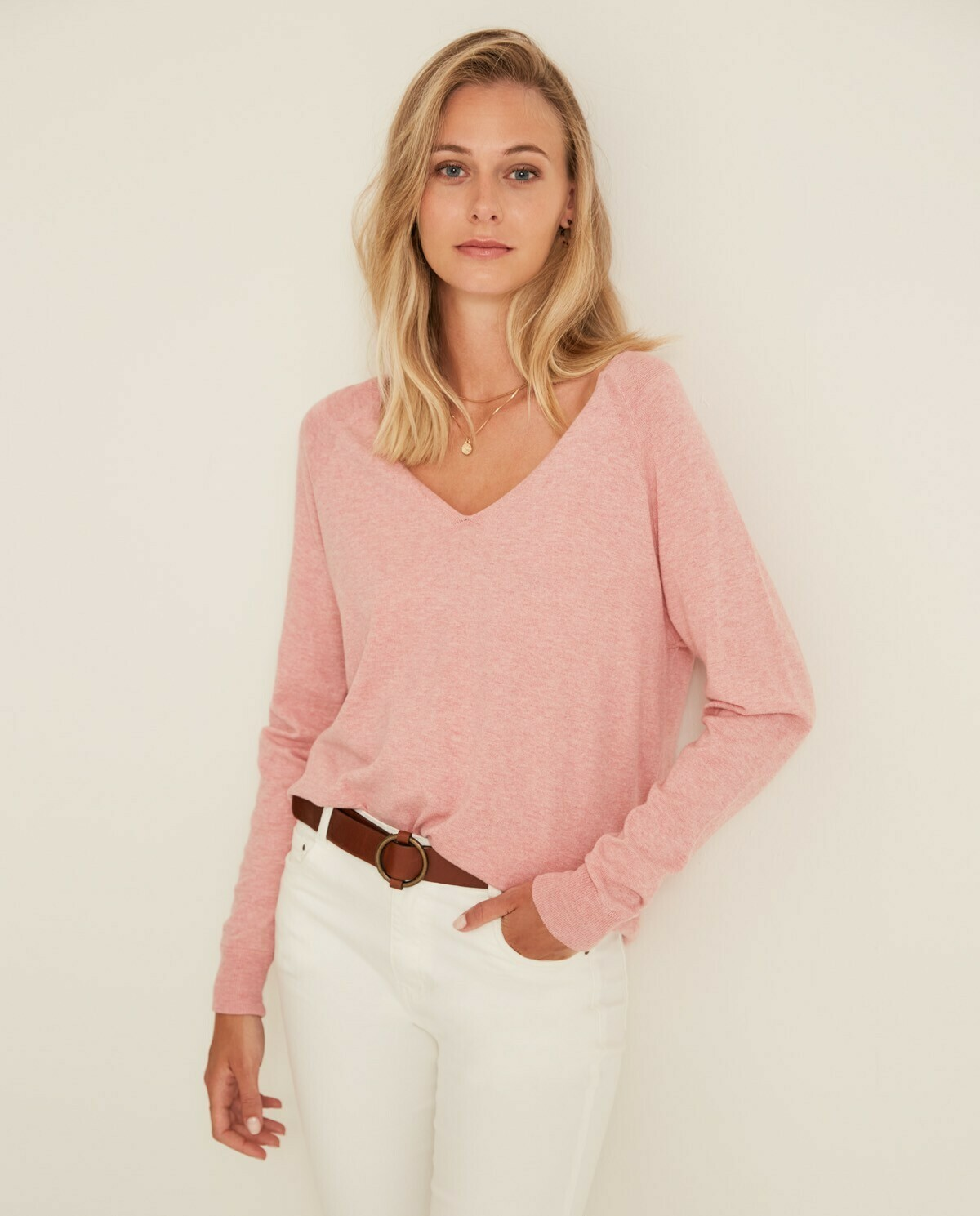 Georgia Pink Knit