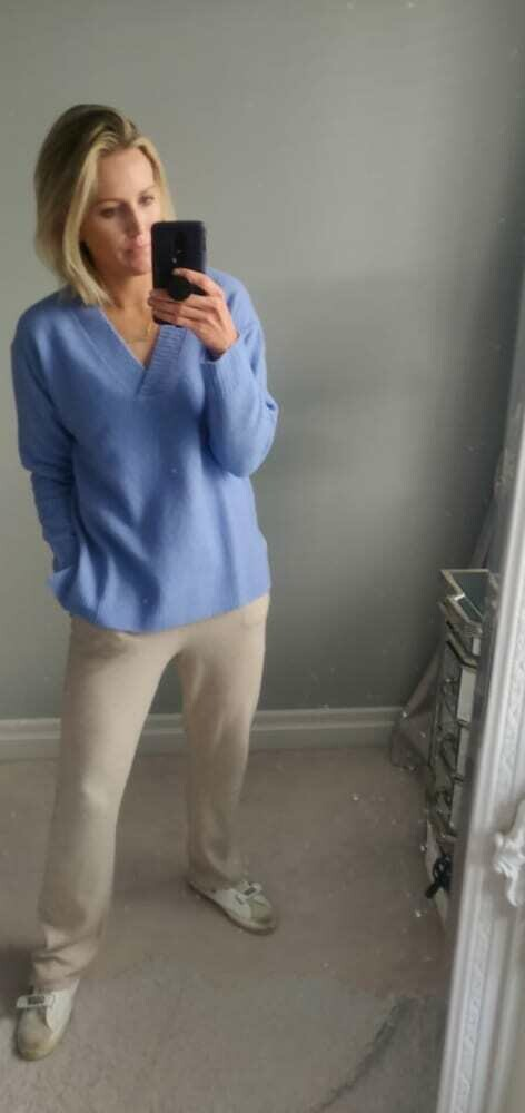 Bluebell V-Neck Knit