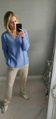 Bluebell V-Neck Knit