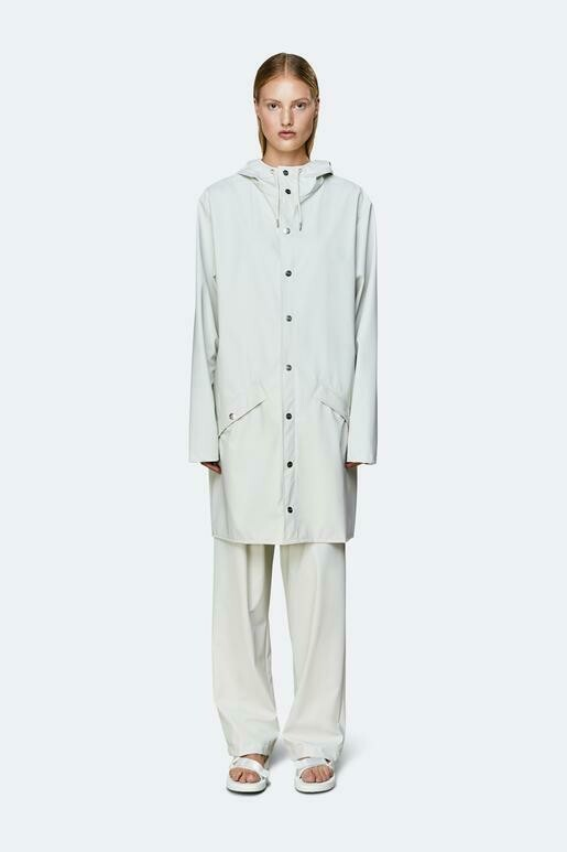Rains Off White Rain Coat